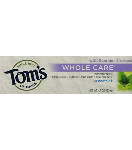 [Tom`S Of Maine] Whole Care Toothpaste Spearmint