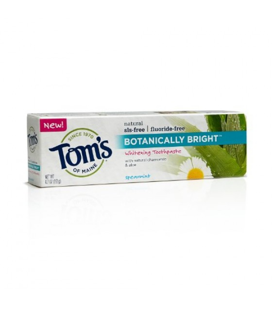[Tom`S Of Maine] Botanically Bright Spearmint, SLS Free