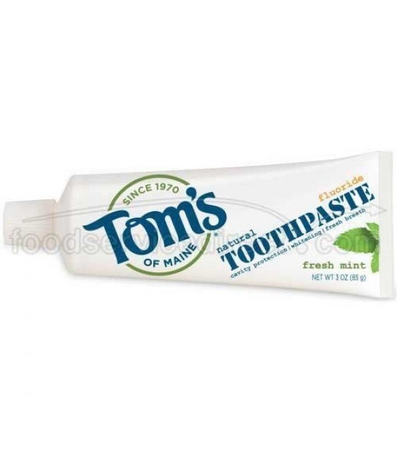 [Tom`S Of Maine] Toothpaste w/Fluoride Fresh Mint Whitening