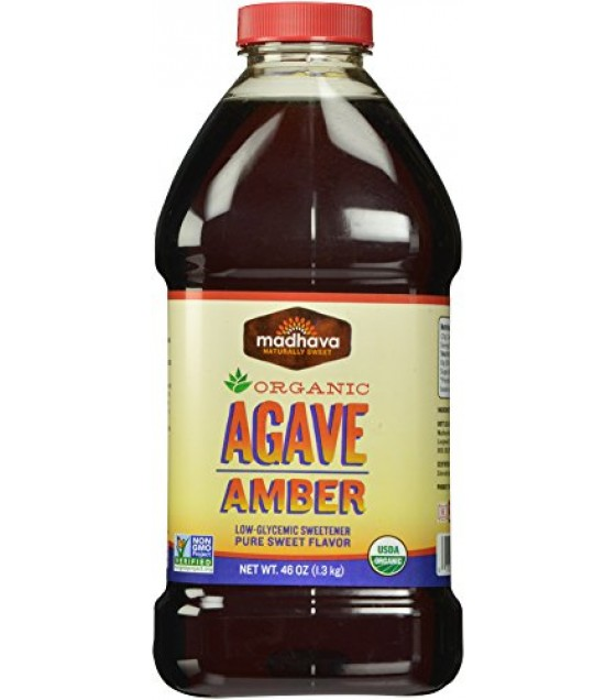 [Madhava] Pure Agave Nectars Amber  At least 95% Organic