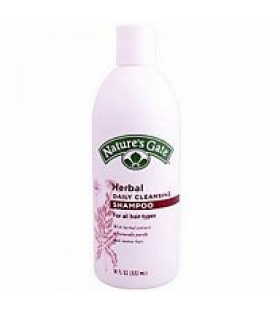 [Nature`S Gate] Herbal Hair Care Shampoo, Herbal Daily