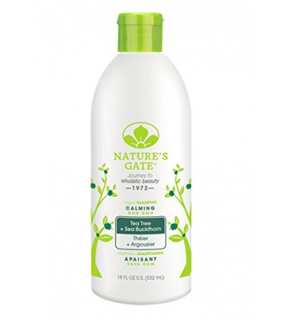 [Nature`S Gate] Rainwater Herbal Hair Care Shampoo, Tea Tree Calming