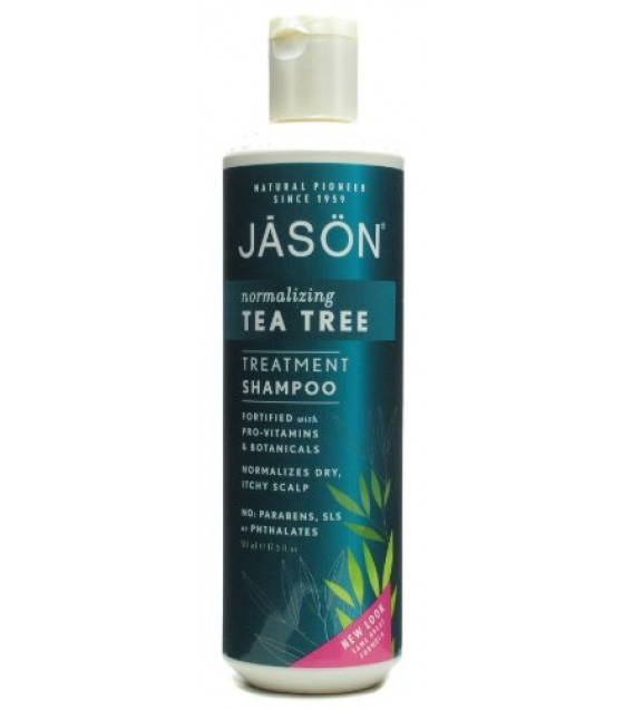[Jason Natural Cosmetics] Specialty Haircare Shampoo, Tea Tree Oil Therapy