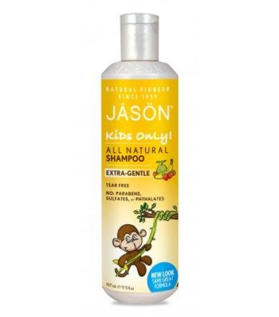 [Jason Natural Cosmetics] Specialty Haircare Shampoo, For Kids Only, Mild