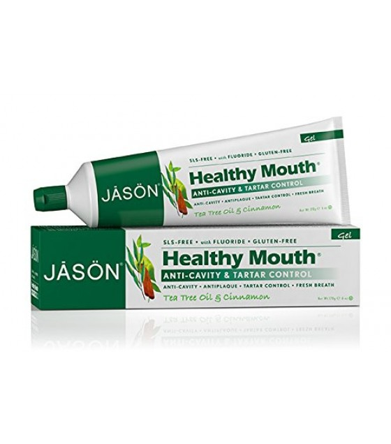 [Jason Natural Cosmetics] Oral Care Healthy Mouth Plus CoQ10 Fluoride Gel