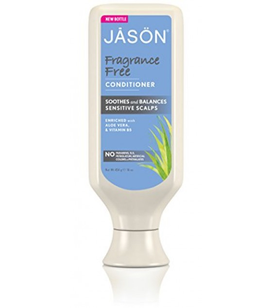 [Jason Natural Cosmetics] Fragrance Free Conditioner, Daily