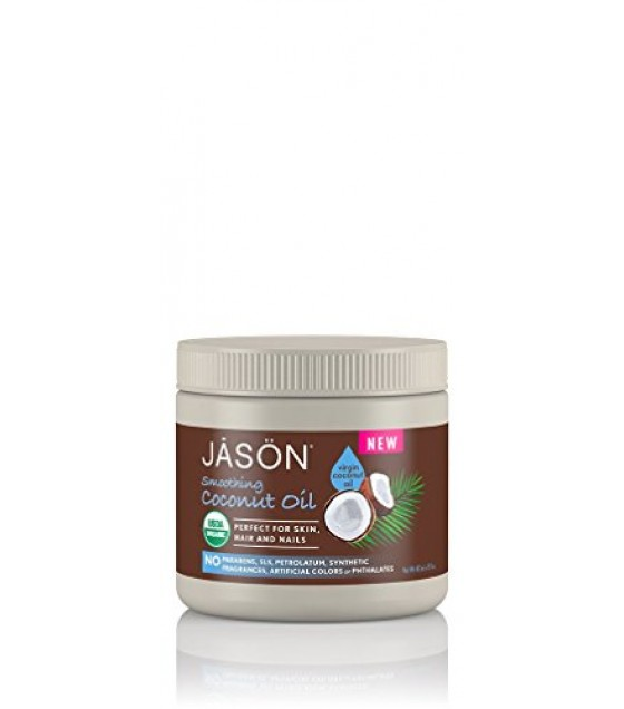 [Jason Natural Cosmetics] Bath & Body Care Smoothing Coconut Oil  At least 95% Organic