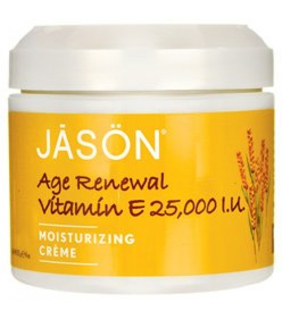 [Jason Natural Cosmetics] Face Cream Vitamin E Creme, 25,000 IU