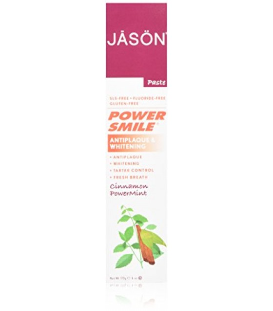 [Jason Natural Cosmetics] Oral Care Toothpaste, PowerSmile Cinn Mint