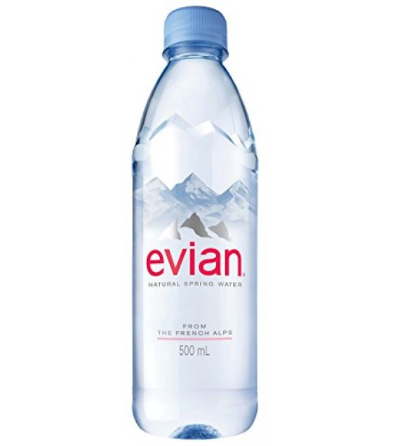 [Evian]  Natural Spring Water