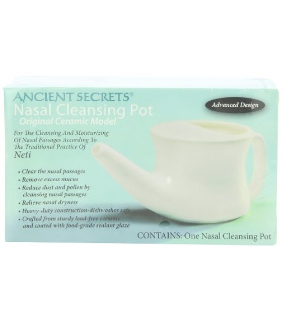 [Ancient Secrets] Nasal Cleansing Products Neti Nasal Cleansing Pot
