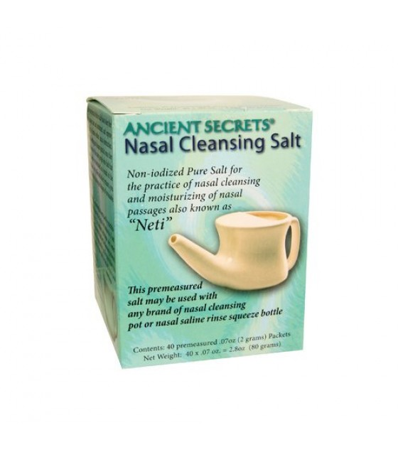 [Ancient Secrets] Nasal Cleansing Products Nasal Cleansing Salt, Box