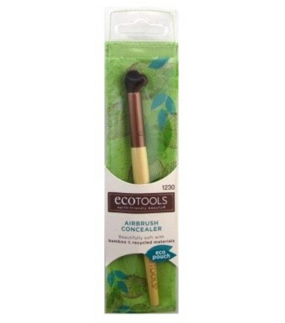 [Eco Tools]  Bamboo Deluxe Concealer Brush