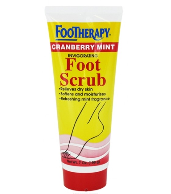 [Queen Helene] FOOTHERAPY SCRUB,CRANBRY