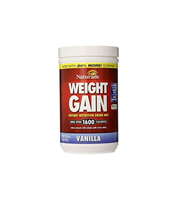 [Naturade Products, Inc.] Protein Powders Weight Gain, No Sugar Added