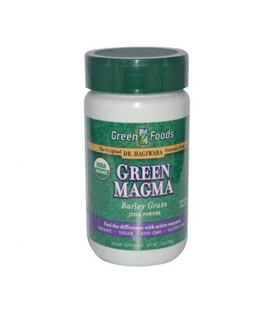 [Green Foods] Made With Organic Young Barley Leaves Green Magma (USA) Powder  At least 95% Organic