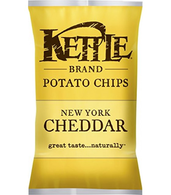 [Kettle Brand] Potato Chips New York Cheddar