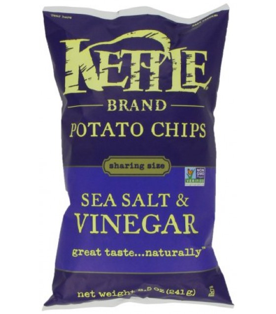 [Kettle Brand] Potato Chips Sea Salt & Vinegar