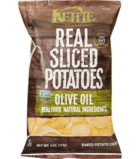 [Kettle Brand] Baked Potato Chips Olive Oil