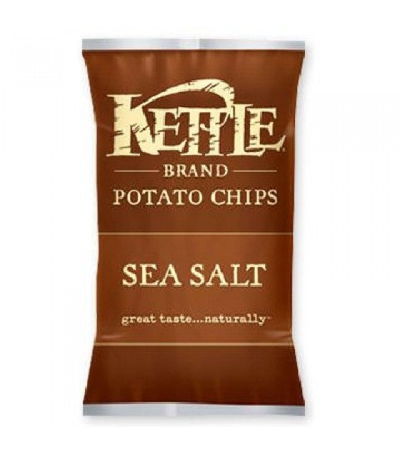 [Kettle Brand] Snack Sizes Chips, Sea Salted