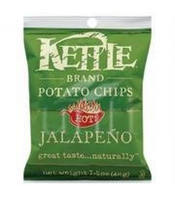 [Kettle Brand] Snack Sizes Chips, Jalapeno