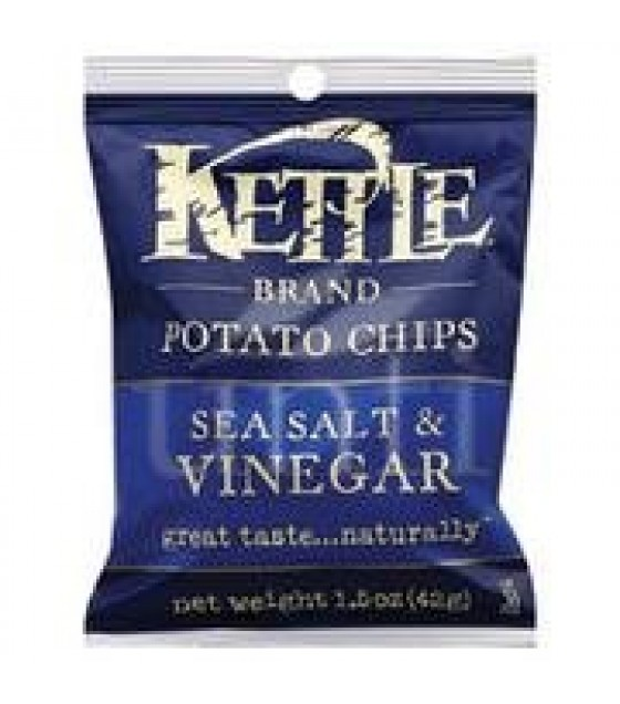 [Kettle Brand] Snack Sizes Chips, Sea Salt & Vinegar