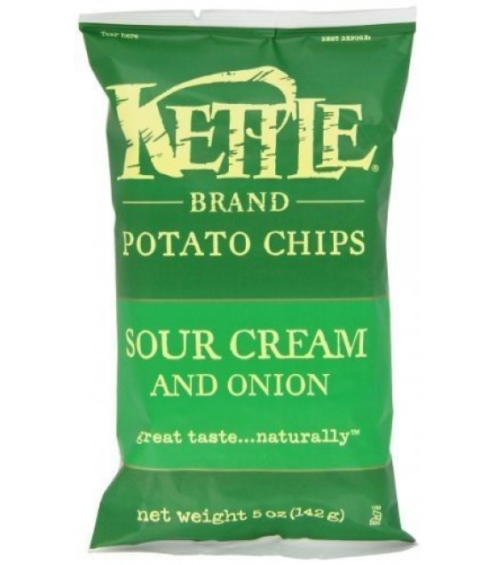 [Kettle Brand] Potato Chips Sour Cream & Onion