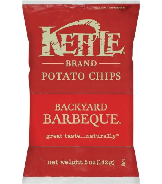 [Kettle Brand] Potato Chips Backyard Barbeque
