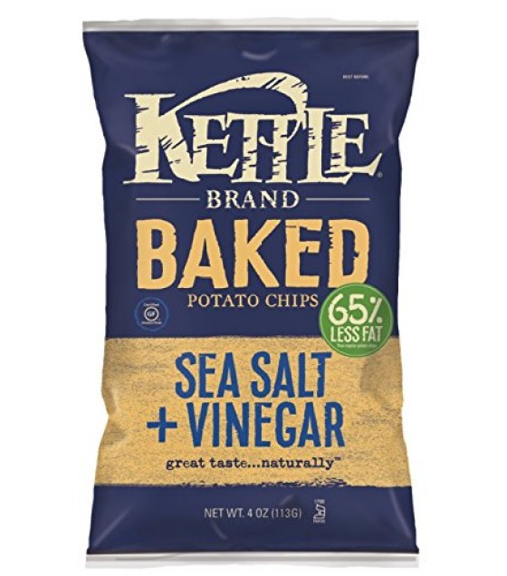 [Kettle Brand] Baked Potato Chips Sea Salt & Vinegar