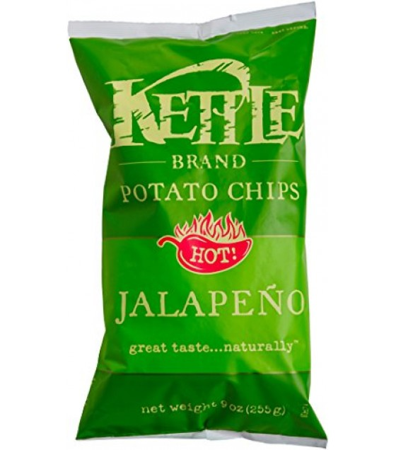 [Kettle Brand] Potato Chips Jalapeno