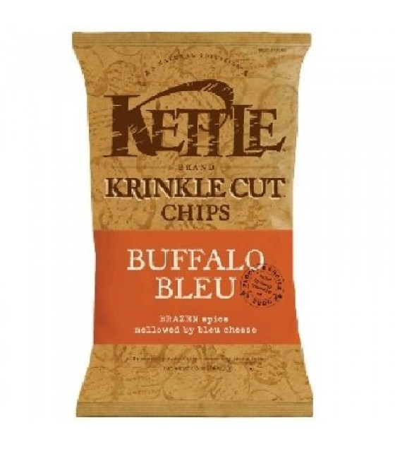 [Kettle Brand] Snack Sizes Chips, Krinkle Cut, Buffalo Bleu