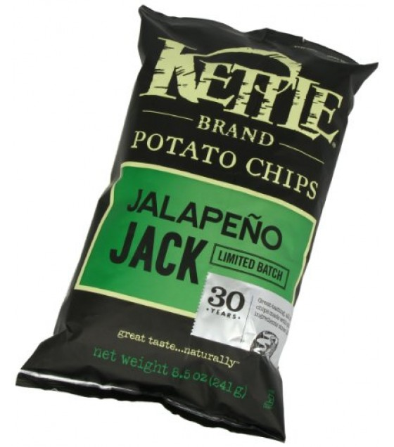 [Kettle Brand] Potato Chips Jalapeno Jack