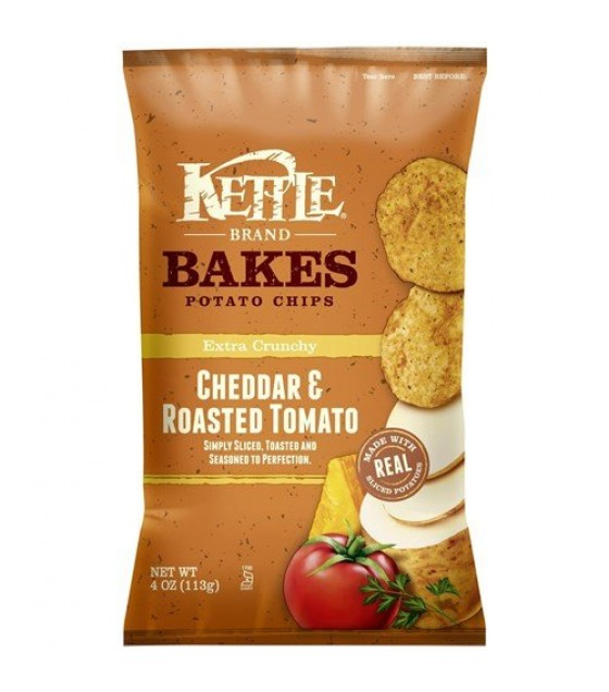 [Kettle Brand] Baked Potato Chips Cheddar & Roasted Tomato