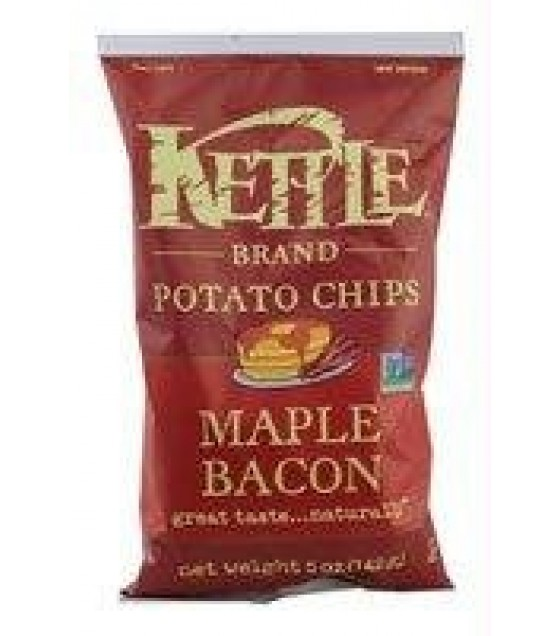[Kettle Brand] Potato Chips Maple Bacon
