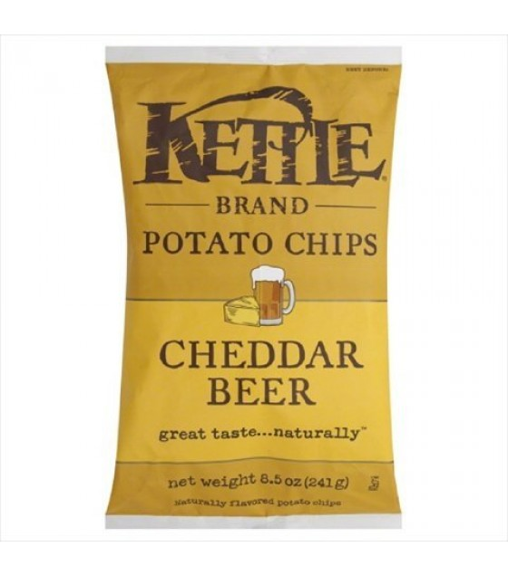 [Kettle Brand] Potato Chips Cheddar Beer