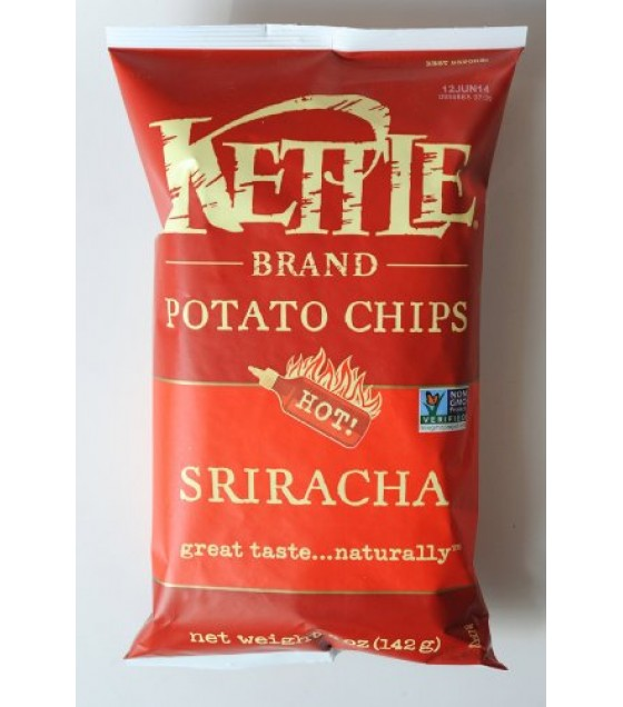 [Kettle Brand] Potato Chips Sriracha