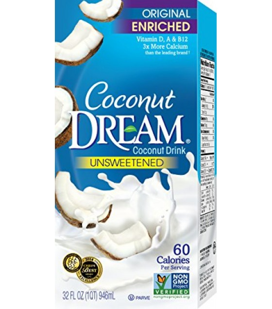 [Coconut Dream] Shelf-Stable Coconut Beverage Original, Unsweetened