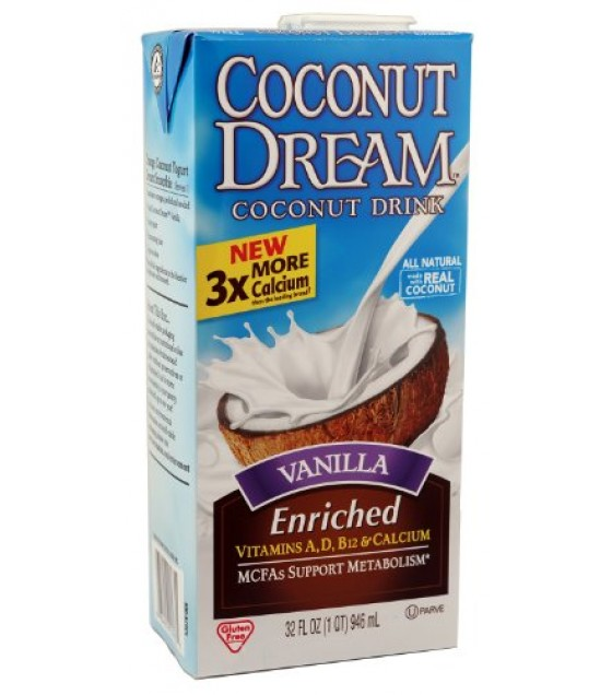 [Coconut Dream] Shelf-Stable Coconut Beverage Vanilla, Enriched