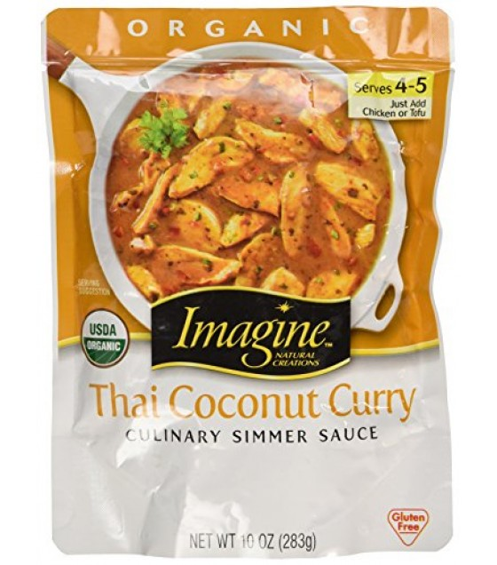 [Imagine Foods]  Simmer, Thai Coconut Curry  At least 95% Organic
