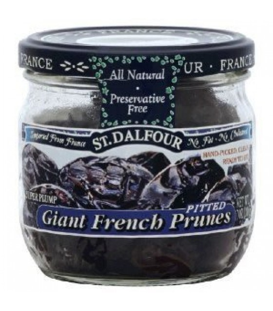 [St. Dalfour] Dried Fruit Giant French Prunes, Pitted