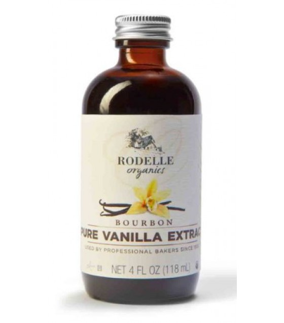 [Rodelle] Baking/Cake Decor Flavorings Bourbon Pure Vanilla Extract  At least 95% Organic