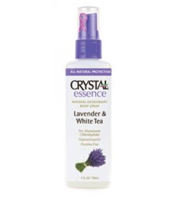 [Crystal] Crystal Essence Deodorant And Body Spray Lavender & White Tea