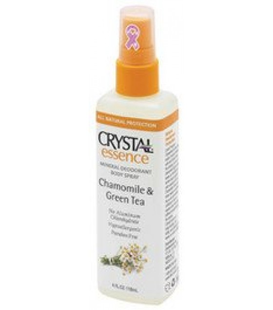 [Crystal] Crystal Essence Deodorant And Body Spray Chamomile & Green Tea