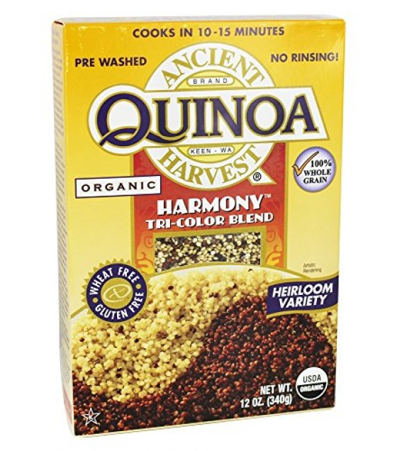 [Ancient Harvest] Quinoa - Wheat Free Products Quinoa, Harmony Tri-Color  At least 95% Organic