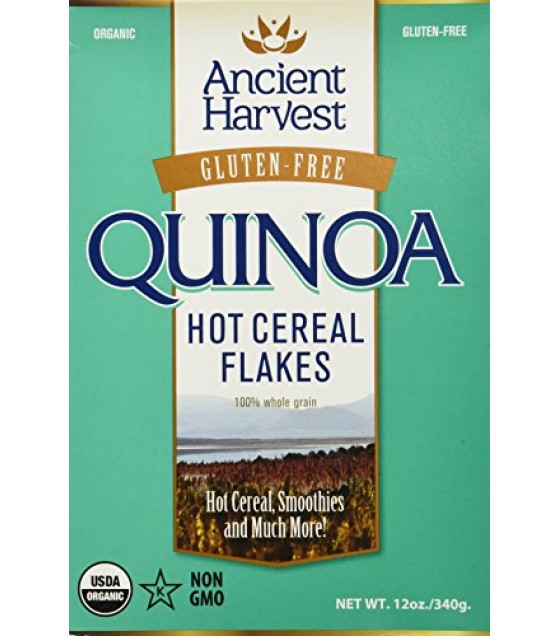 [Ancient Harvest] Quinoa - Wheat Free Products Quinoa Flakes  At least 95% Organic