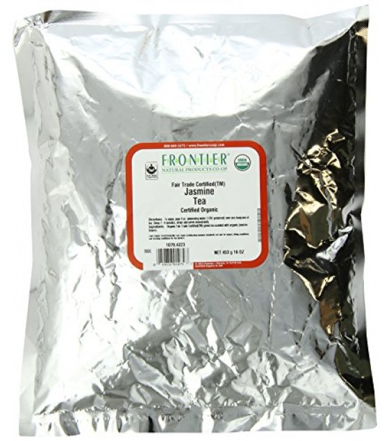 [Frontier Natural Products] Bulk Teas Jasmine  At least 95% Organic