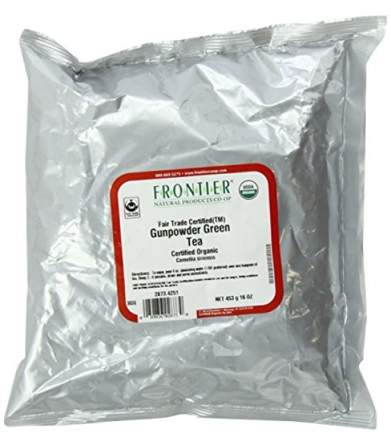 [Frontier Natural Products] Bulk Teas Gunpowder Green  At least 95% Organic