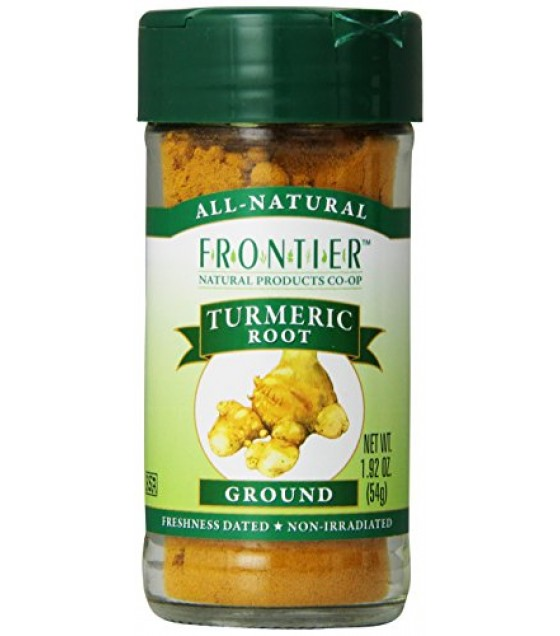 [Frontier Natural Products] Herbs & Spices Turmeric Root, Ground