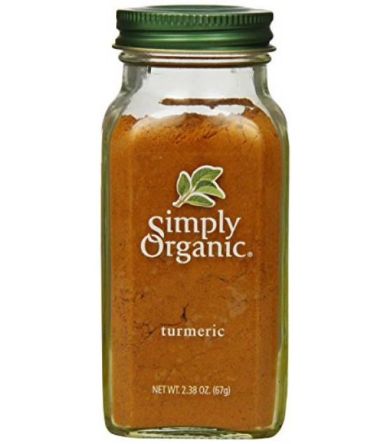 [Simply Organic] Spices Turmeric  At least 95% Organic