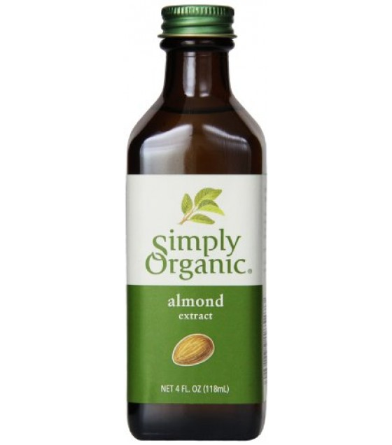 [Simply Organic] Flavors/Extracts Almond Extract  At least 95% Organic